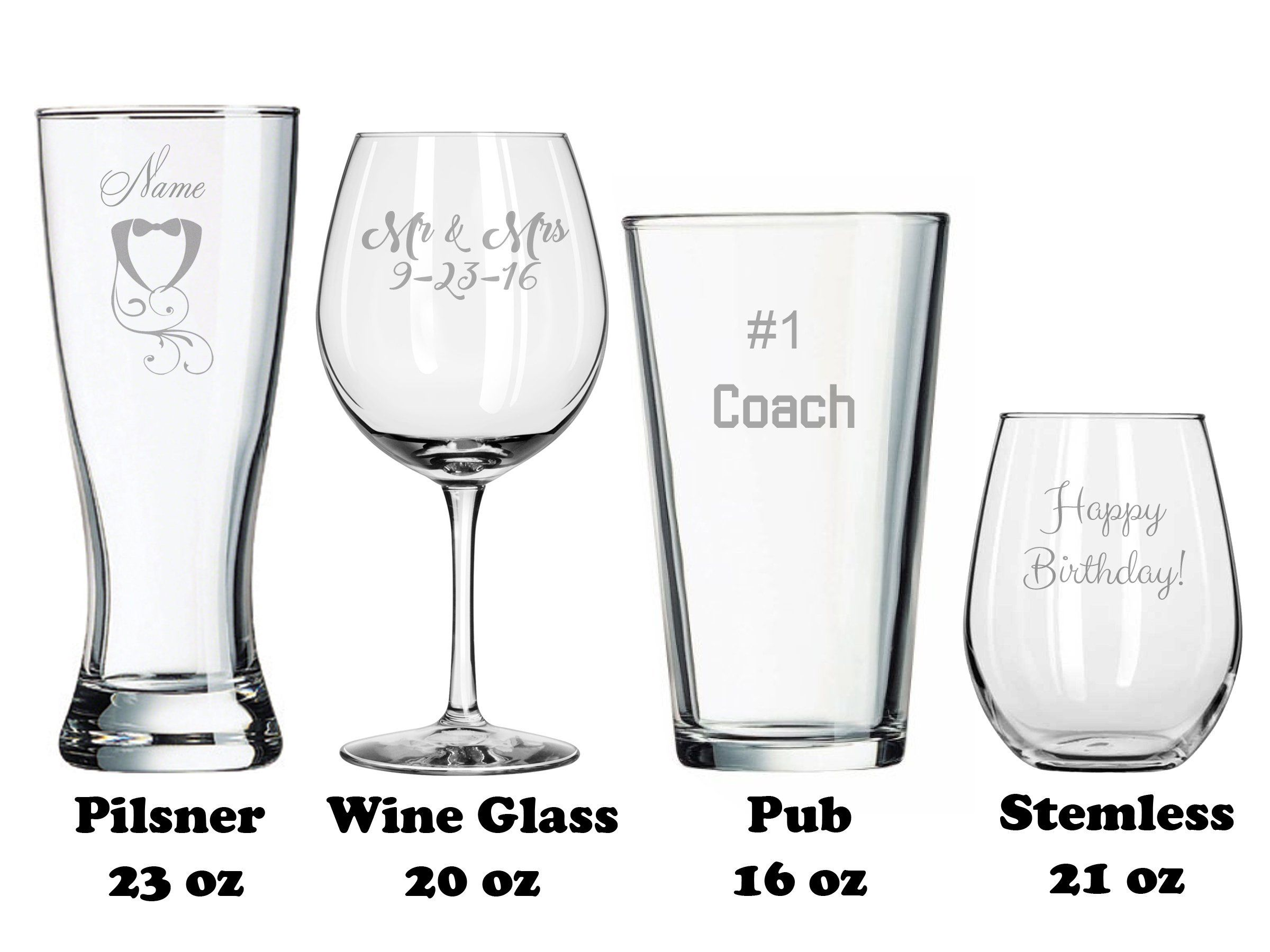Make Your Own - Wedding Toasting Glasses - Birthday Gifts ...