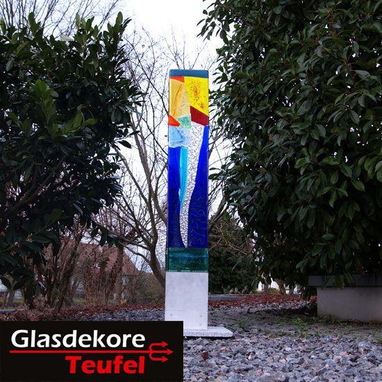 Gartenkunst modern Glas im Garten Pinterest
