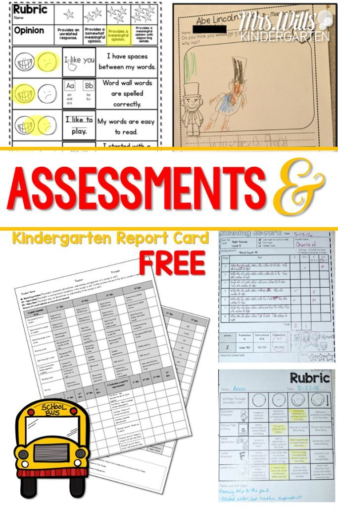 FREE Report Card Template! Common cores, Kindergarten and - report card template