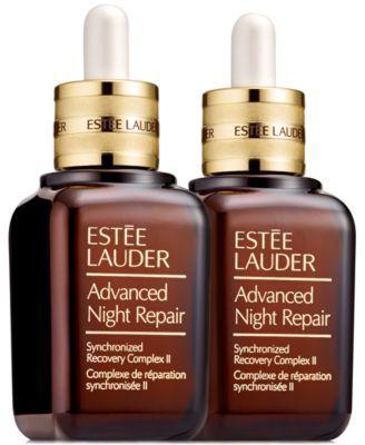 Estee Lauder Advanced Night Repair Synchronized Recovery Complex Ii 2 Pk Reviews Skin Care Beauty Macy S Estee Lauder Sephora Perfume