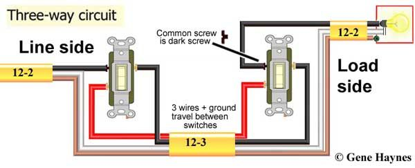 How to wire switches Wire switch, Light switch wiring