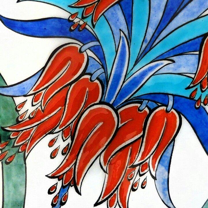 Ters Lale Cizim Batik Sanati Sanatcilar