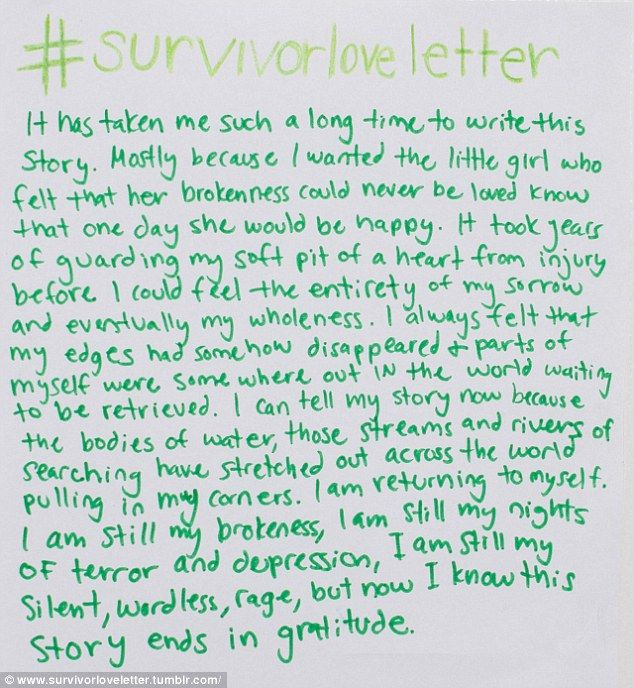 Survivorloveletters encourages victims of sexual abuse to speak out explore valentines day organizers and more spiritdancerdesigns Choice Image