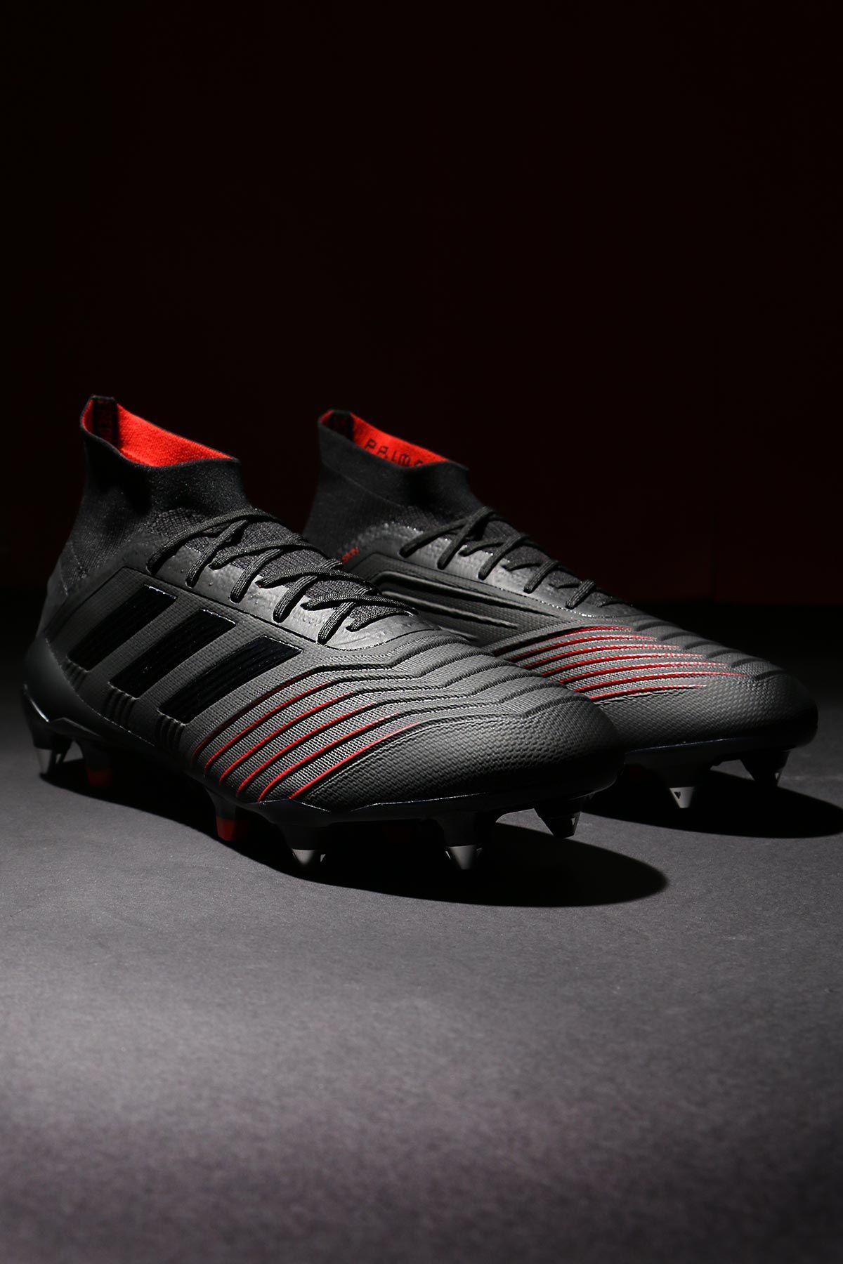 Botas de fútbol con tobillera adidas SG para césped natural húmedo - negras 4fa358e08a36c