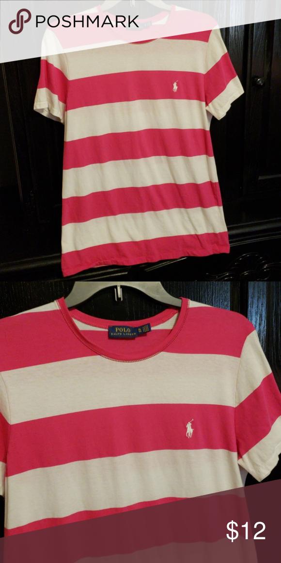 aaf0c751 Women's Polo Ralph Lauren t-shirt Women's Polo Ralph Lauren t-shirt, pink