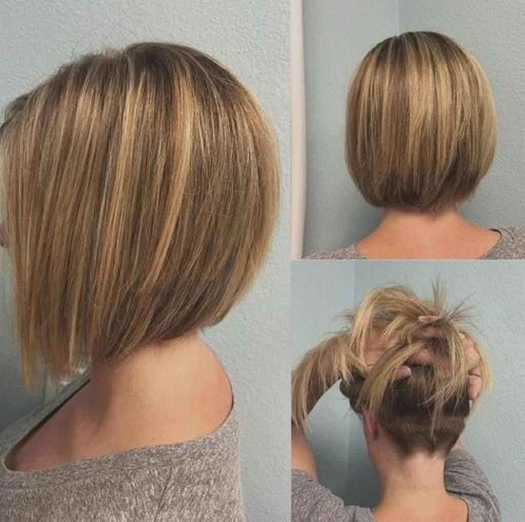 Bob Frisuren Hinterkopf Ansicht Frisuren Medium Bob