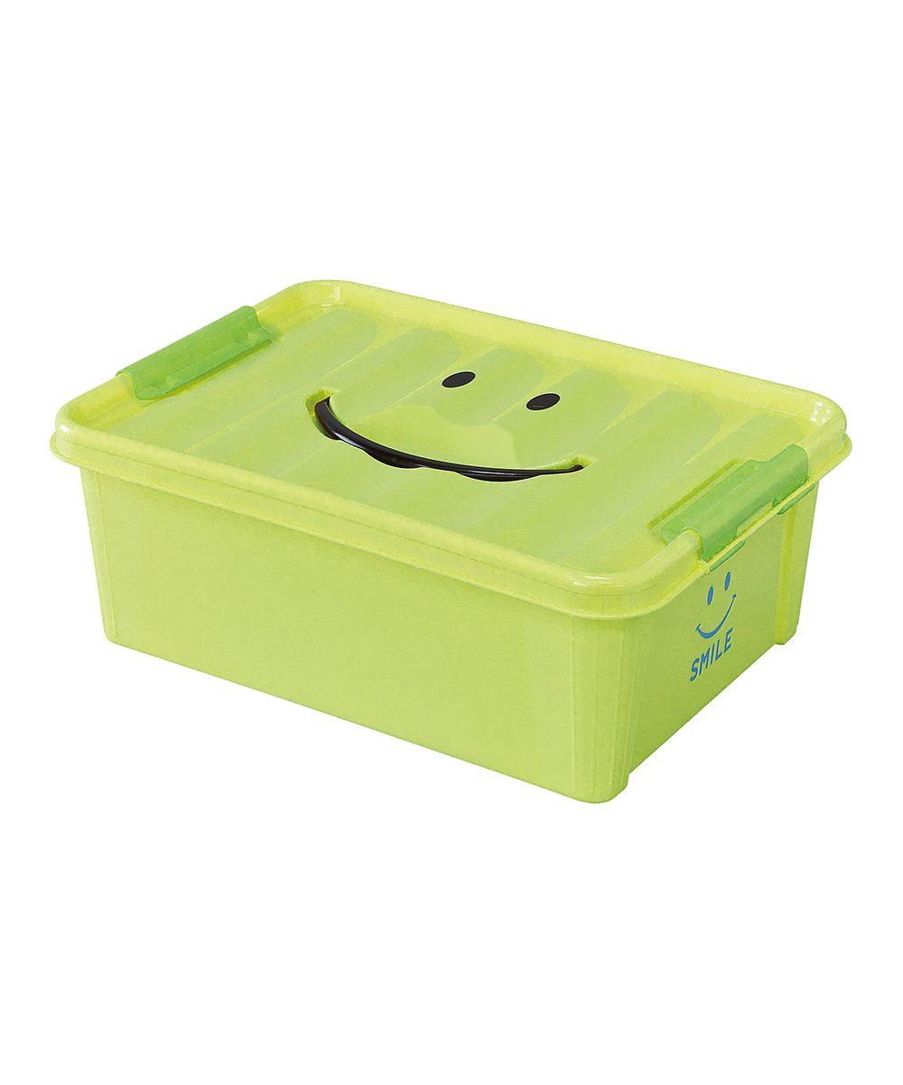 Green Small Smile Storage Box