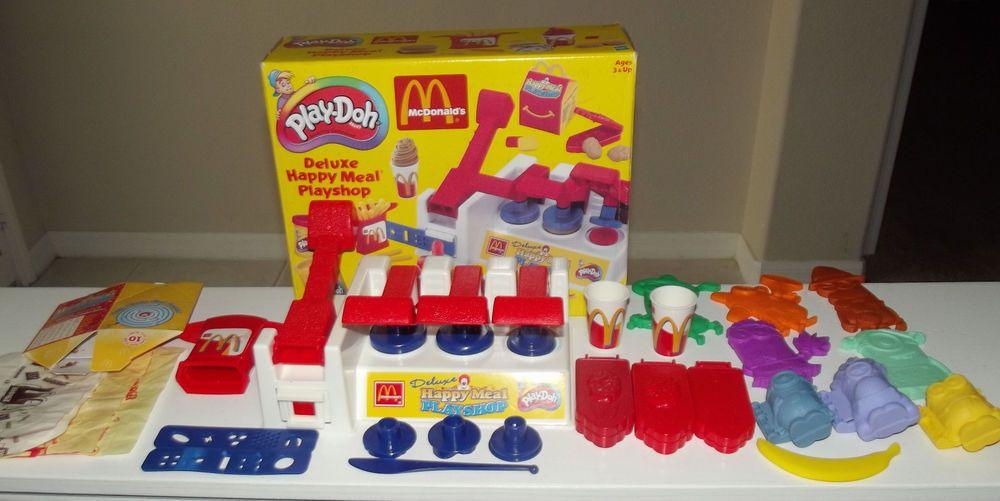 2000 Mcdonalds Playdoh Deluxe Happy Meal Playshop