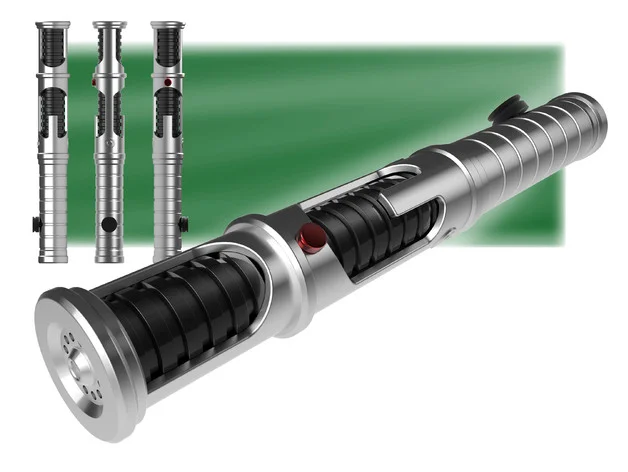 Quinlan Vos Lightsaber By Casestudyno8 Thingiverse Lightsaber Star Wars Light Saber Star Wars Rpg