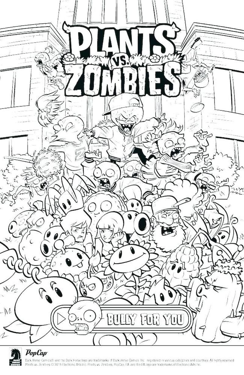 Plants Vs Zombies Coloring Pages Free Coloring Sheets Plants Vs Zombies Coloring Books Coloring Pages