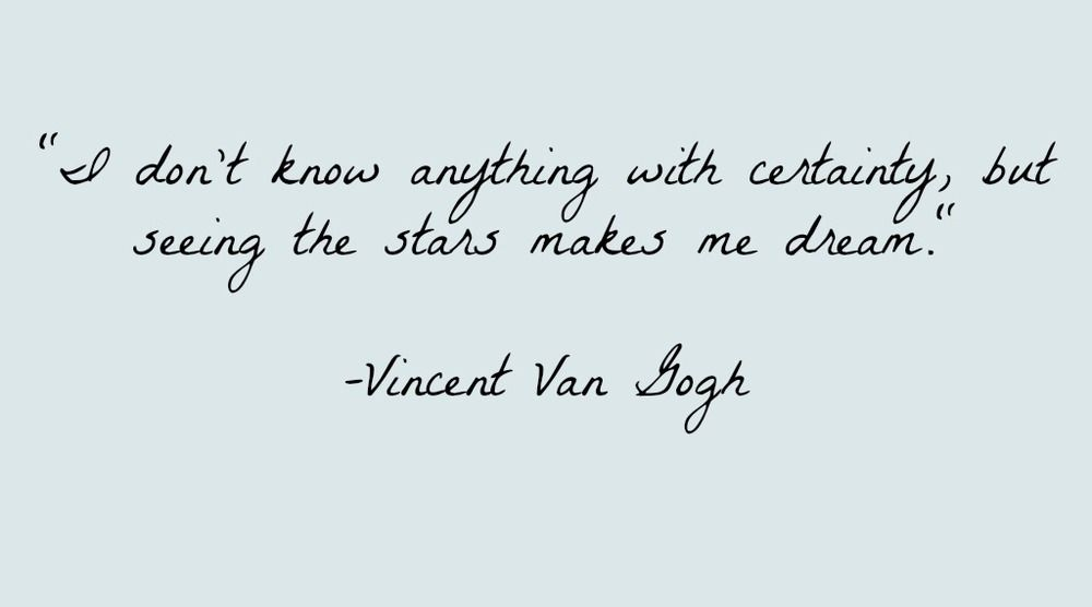 Vincent Van Gogh Quotes Vincent Van Gogh Quote  Van Gogh Quotes Thoughts And Inspirational