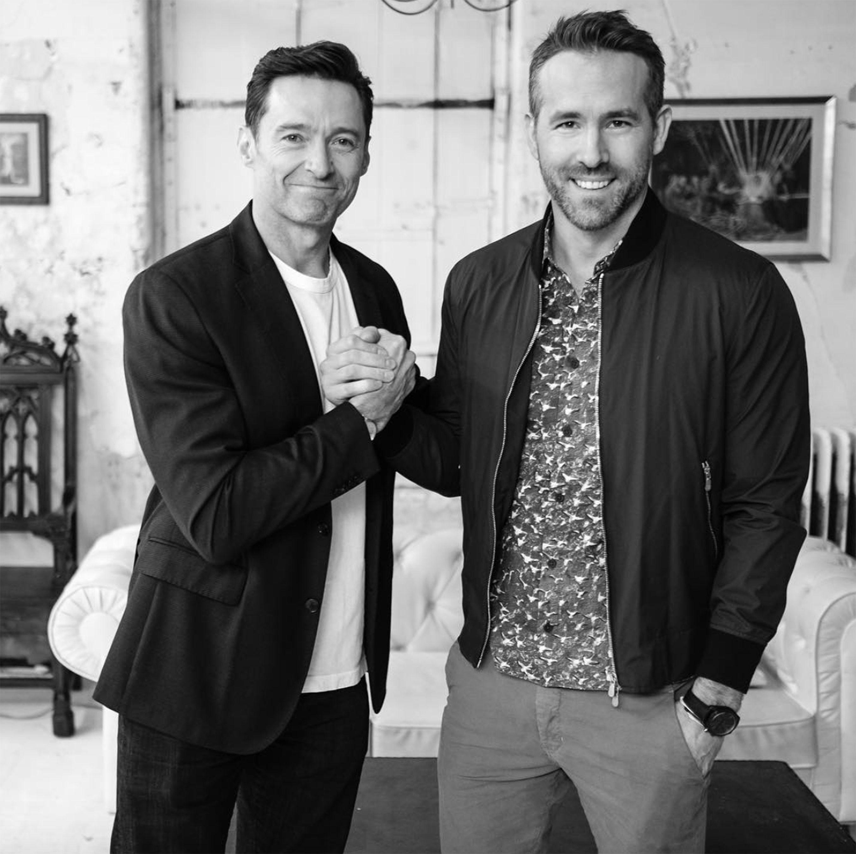 Watch Ryan Reynolds and Hugh Jackman Call a 'Truce' to