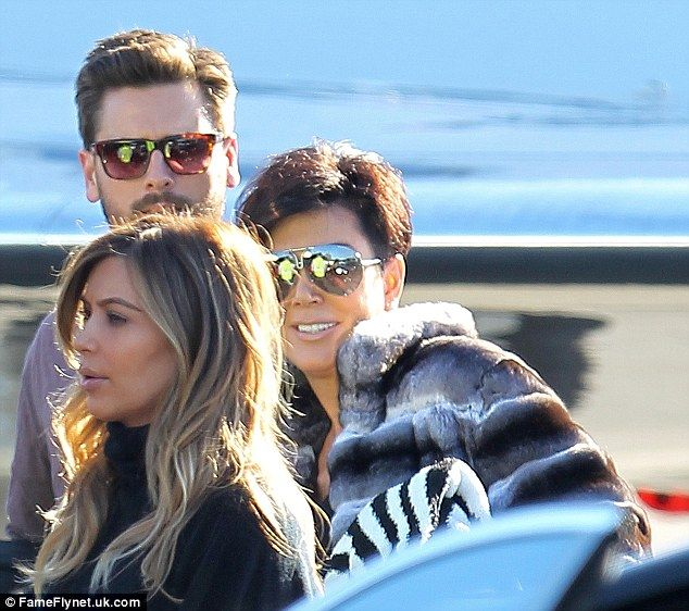 Kim Kardashian and Kanye West jet to Aspen with the ...