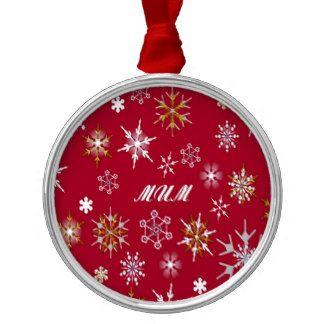red snowflakes decorations - Google Search