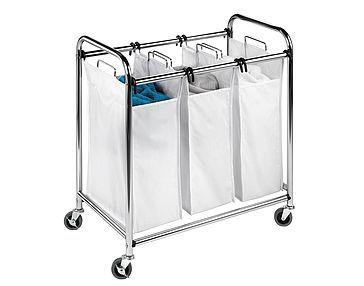 Laundry Sorter 3 Compartment Laundry Sorter Laundry Hamper