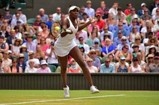Photos From The Venus-Serena Match