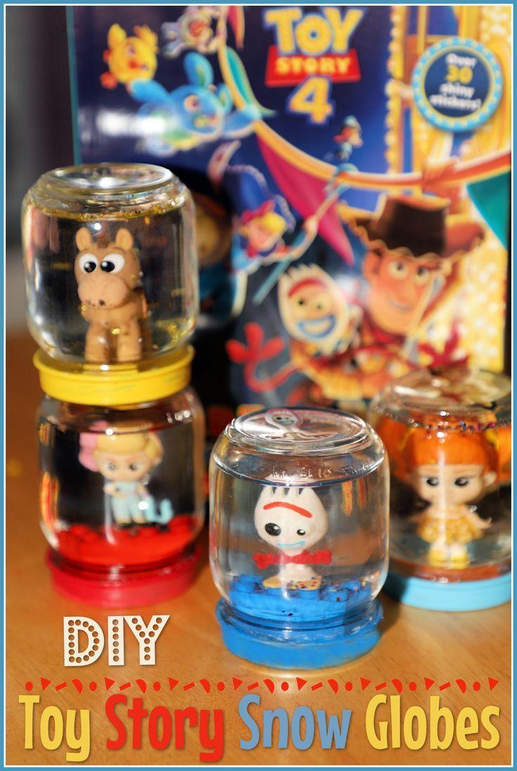 DIY Toy Story Snow Globes
