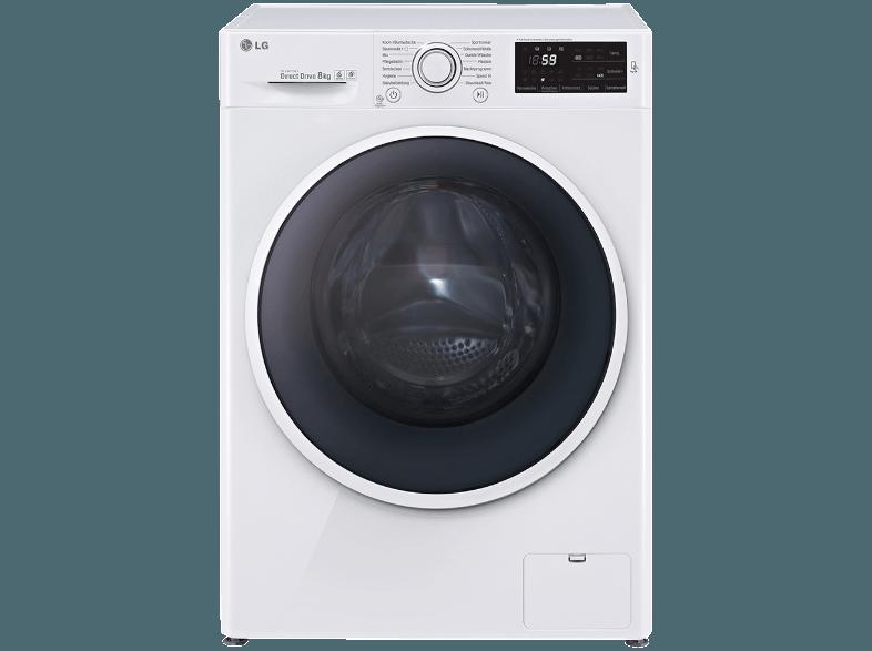 Lg F 14 U2 Tdn0h Waschmaschine 8 Kg 1400 U Min A