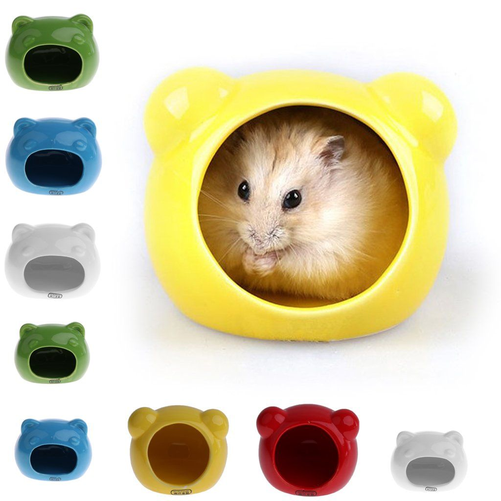 Blesiya Small Pet House Lovely Small Animal Indoor Hamster