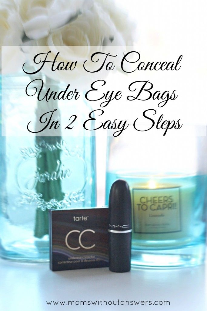 Sharing 2 Easy Steps On How To Conceal The Bags Under Your Eyes.