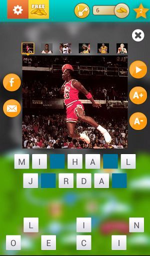 The athlete trivia game with a social, interactive game board. Name sports stars from basketball, football, hockey, soccer, boxing, olympics and more. You'll find icons from the past and present. Invite friends and track their progress on the interactive game board.<p>- Name the athlete in the picture<br>- Interactive game-board to track progress<br>- Track friend's progress with the social game board<br>- Over 40 different levels keeps the quiz fresh and new<br>- 40+ categories covers many…