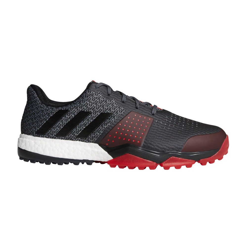 super popular 339df 0100e fashion Adidas Adipower Sport Boost 3 Mens Golf Shoes - Black Scarlet -  WIDE -