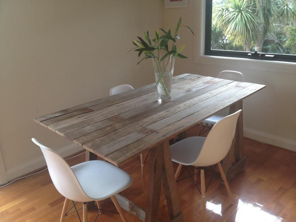 Timber Trestle Table wwwtomstimberfurniture For the Home