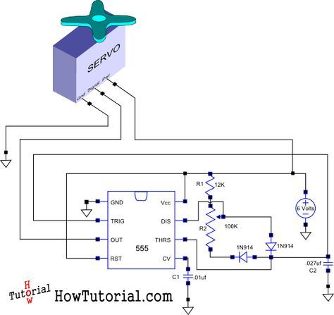 Servo driver circuit schematic a pinterest circuits arduino servo driver circuit schematic asfbconference2016 Choice Image