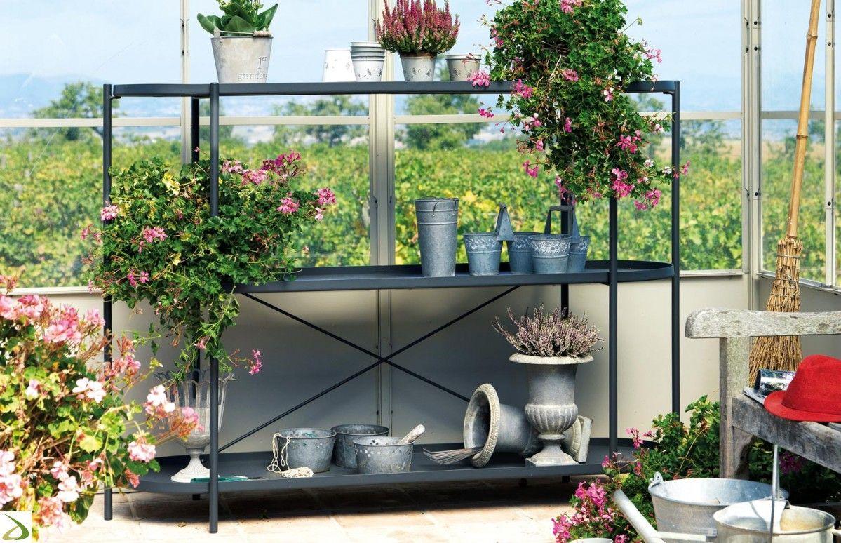 Scaffale etagere arredo giardino pinterest