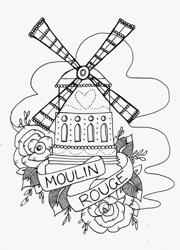 moulin rouge tattoo google search tattoo ideas pinterest awesome tattoos moulin rouge. Black Bedroom Furniture Sets. Home Design Ideas