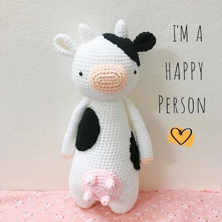 Cow by nguyenthinghia060383 Crochet pattern by Little Bear Crochets ...