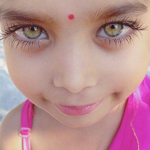 Those Beautiful Eyes Masha Allah Kids Eyes Indian Girls