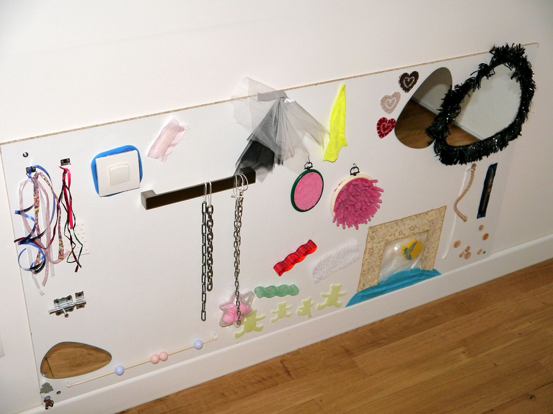 diy tableau sensoriel ducation pinterest tableau. Black Bedroom Furniture Sets. Home Design Ideas