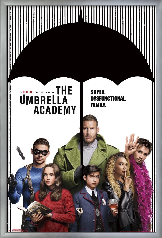 umbrella academy group poster