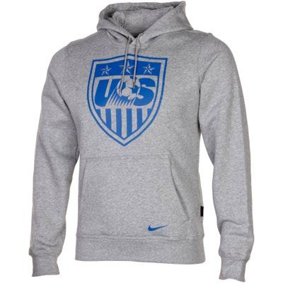 Nike US Soccer Core Pullover Hoodie Ash   Soccer outfits