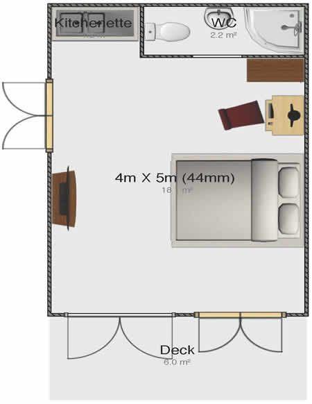 Image Result For 5m X 5m Granny Annexe Granny Flat Granny Flat Plans Flat Plan