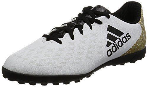 new styles 7e422 70914 adidas X 16.4 TF J, Botas de Fútbol para Niños, Blanco (Ftwr White Core  Black Gold Metallic), 30 EU