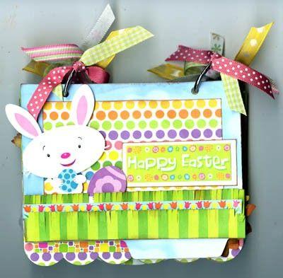 Easter Scrap Mini Album...