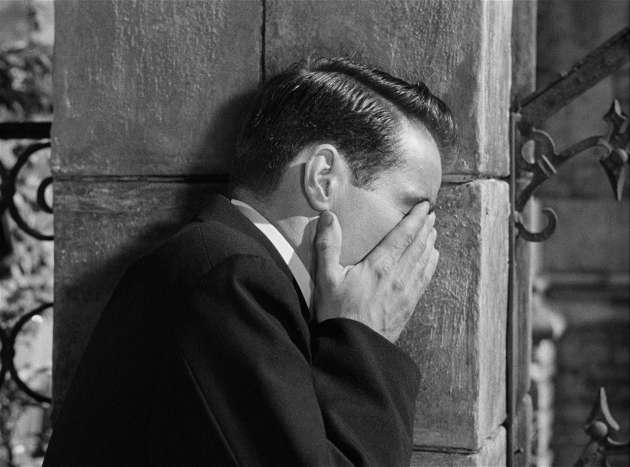 """facepalminmovies: """"I Confess (Alfred Hitchcock. 1953) """" 
