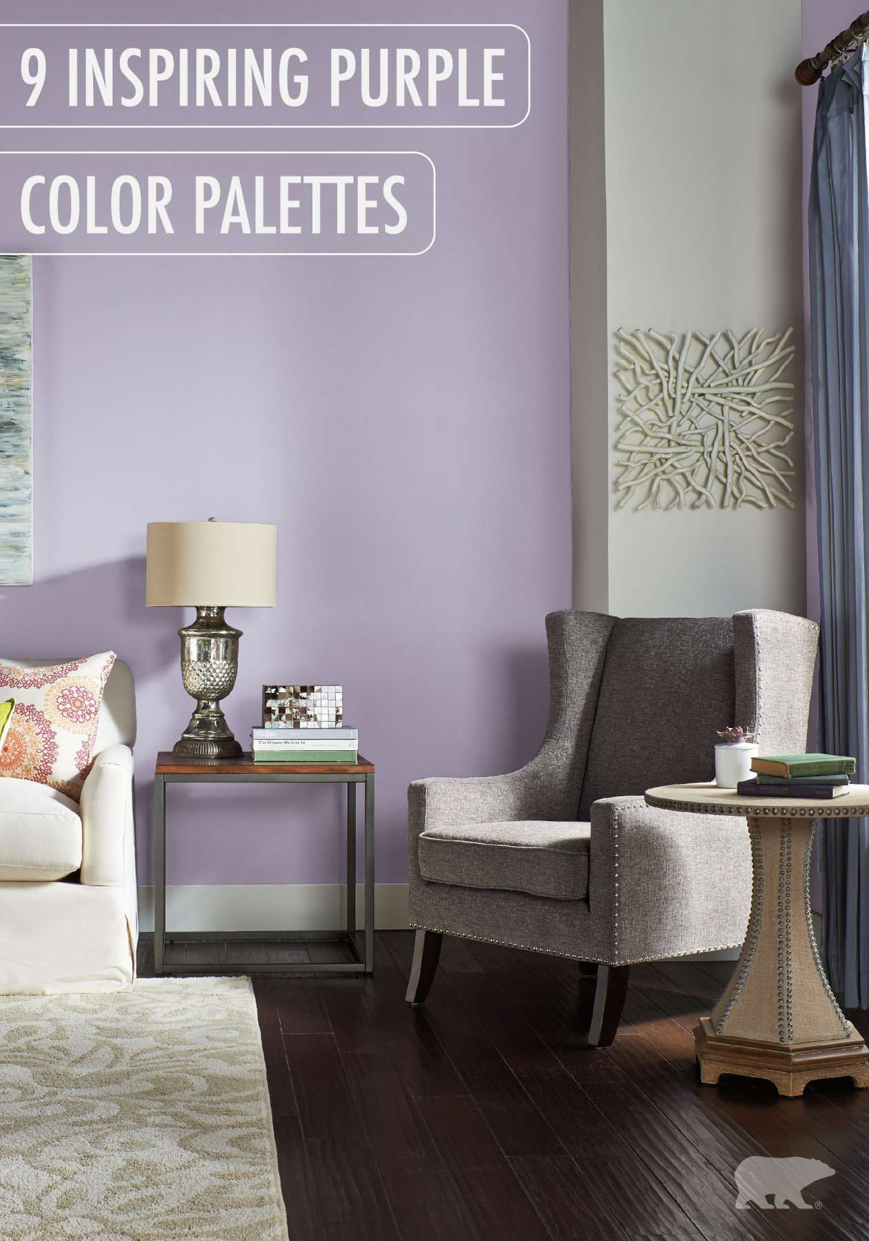 7+ Amazing Bedroom Color Combinations With Opulant Purple ...
