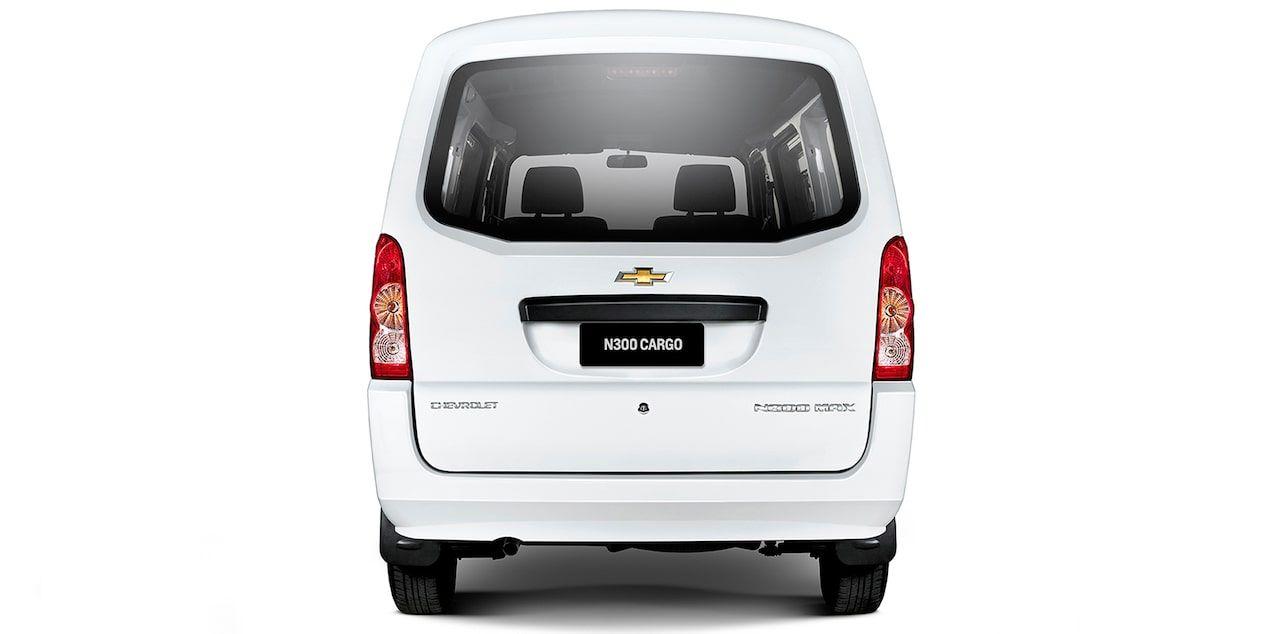 Chevrolet N300 Vista Trasera De Tu Van De Carga Traseros
