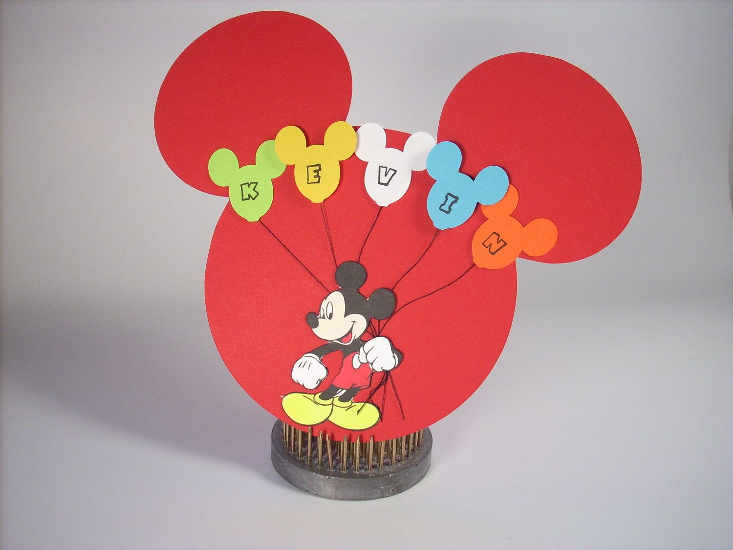 Mickie Mouse Handmade Greeting Cards Birthday Card Personalized