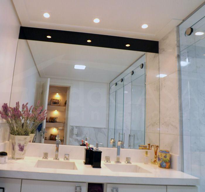 Luminaria Banheiro Gesso : Ilumina??o banheiro arandela