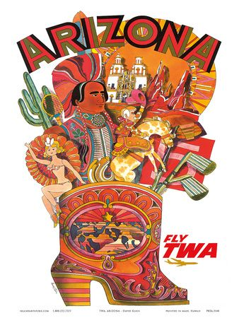 Arizona • Fly TWA