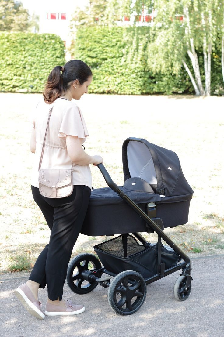 Joie Buggy Chrome Test Joie Chrome Dlx Kombi Kinderwagen Mit Dem Baby Sicher