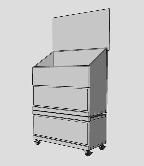 Dutch Tool Chest With A Lower Storage Unit Popular Woodworking Magazine Essential Woodworking Tools Popular Woodworking Woodworking Tools Router