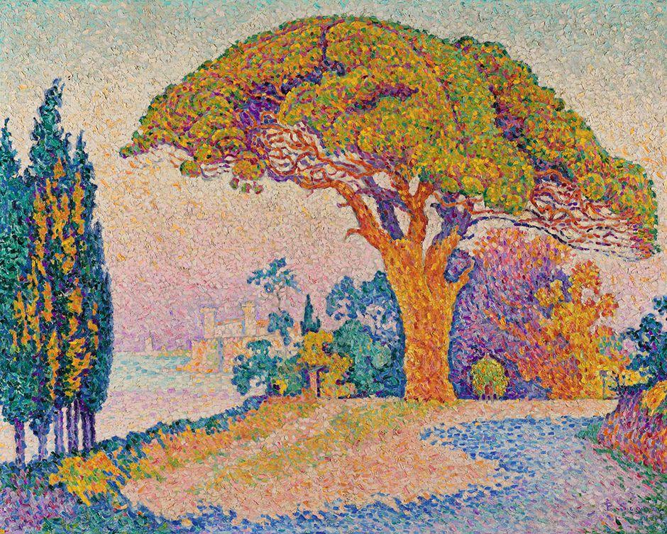 Paul Signac, Le Pin de Bertaud. More impressionista e moderna Sintesi Art   SOTHEBY'S