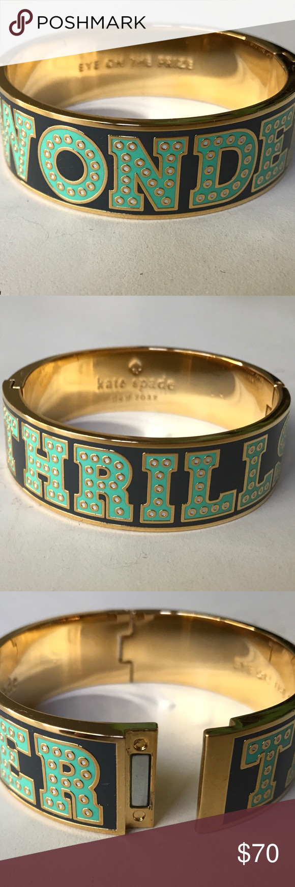 Wonder thrills kate spade magnetic bracelet excellent preowned