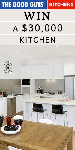 Win a $30,000 #Kitchen #Makeover! #competition | Home ...