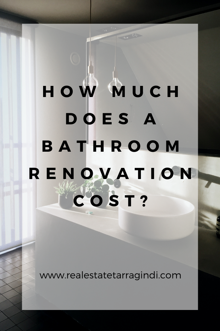 How Much Does A Bathroom Renovation Cost Find Out What S Involved In A Bathroom Renovation Bathroom Renovation Cost Bathroom Renovation Home Renovation Costs